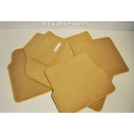 Golf / Jetta Mk2 velour floor mats BEIGE