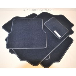Golf / Jetta Mk2 velour floor mats EDITION ONE BLUE