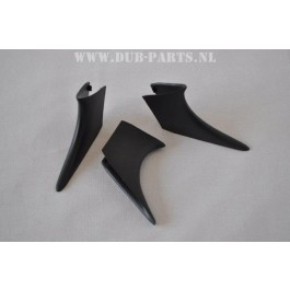 "Set of 3 ""sharkfins"" Golf /Jetta Mk2"