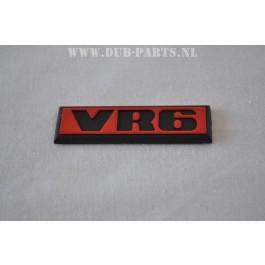 VR6 emblem 19X66mm