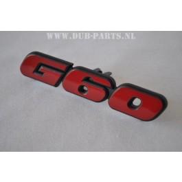 G60 front emblem Original