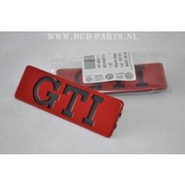 GTI side trim emblem