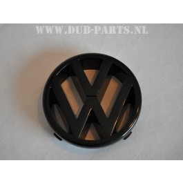 VW grill logo black