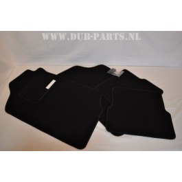 Golf / Jetta Mk2 velour floor mats BLACK