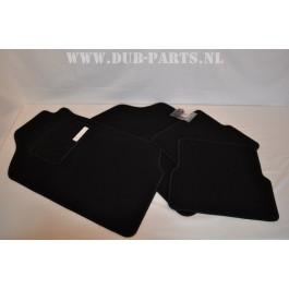 Golf / Jetta Mk2 velour floor mats BLACK