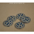 VW key logo 14mm (1 pcs)